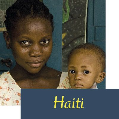 paises beneficiados haiti